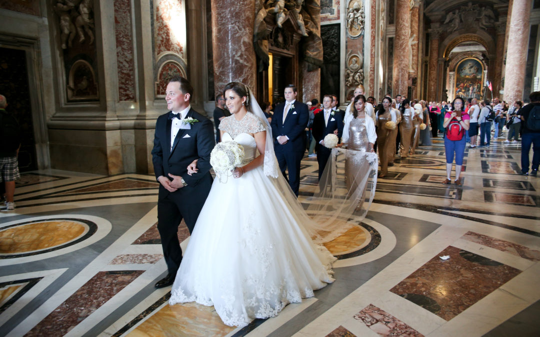 Lauren Trimble & Cameron Forni Wed at Vatican